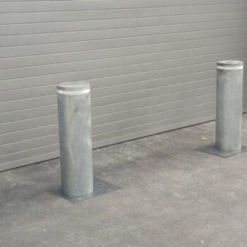 Pilonas escamoteables semi automatica